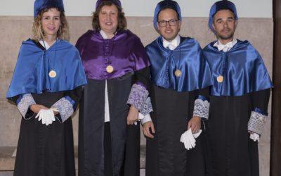 Eric Carmona y Maria Lorenzo Nuevos DOCTORES SAMA_UV